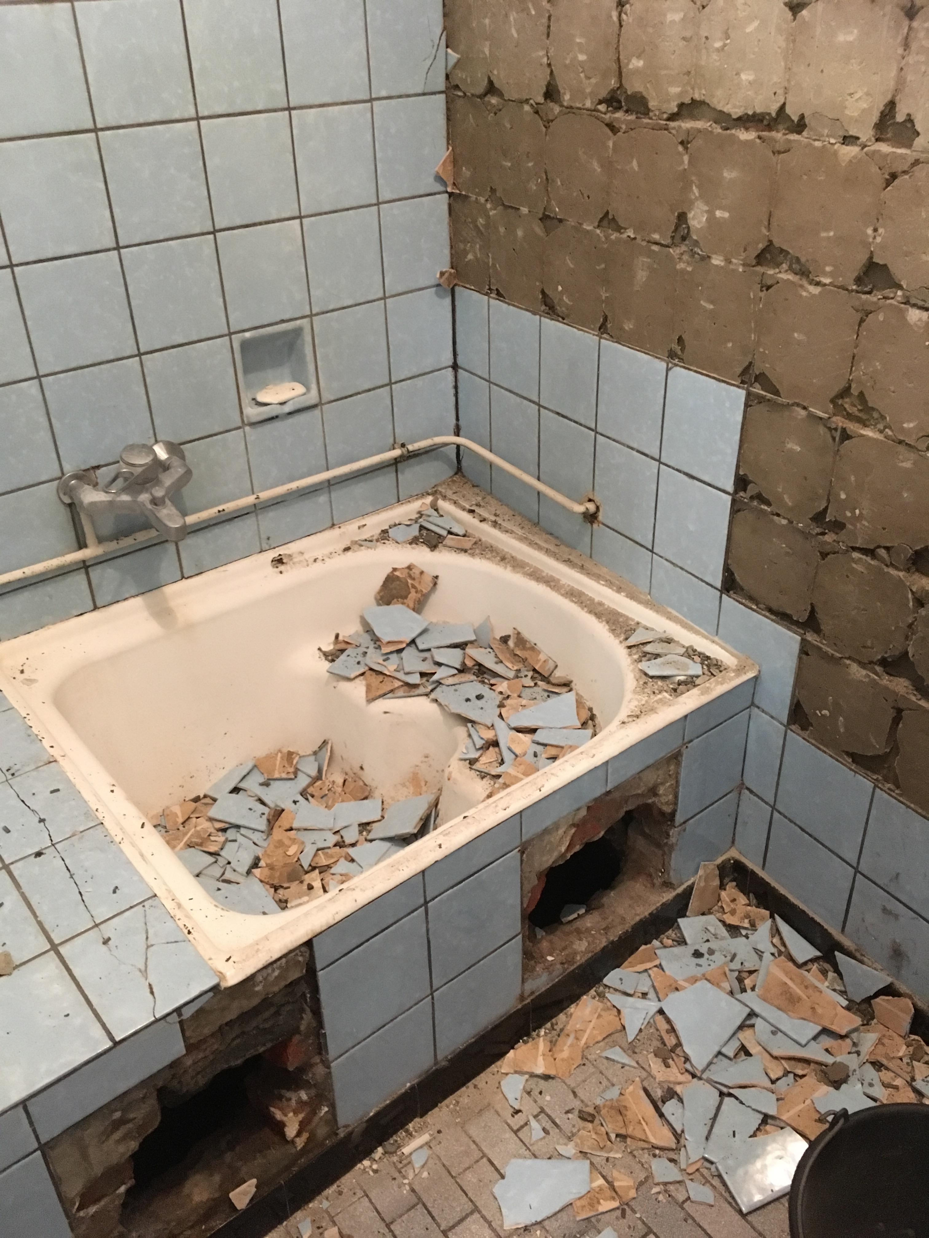 Renovatie Badkamer Douche